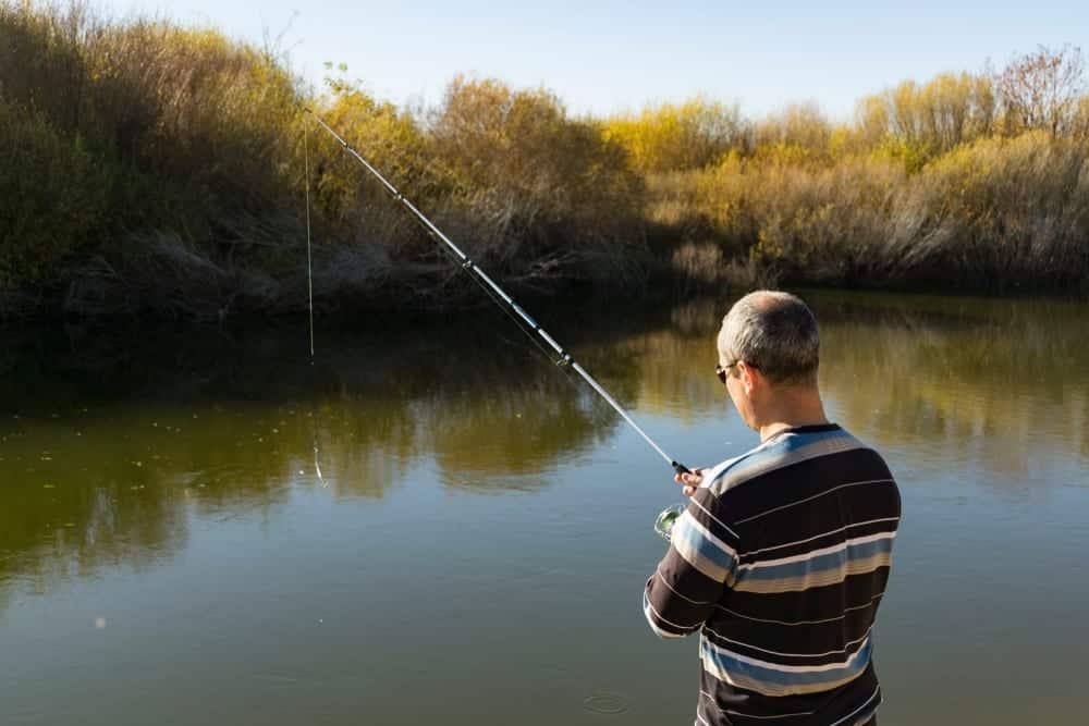 Huntington Wood fishing