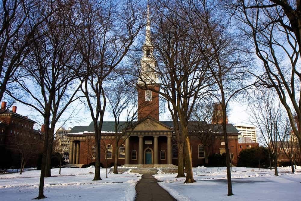 Cambridge weather - Snow at Harvard