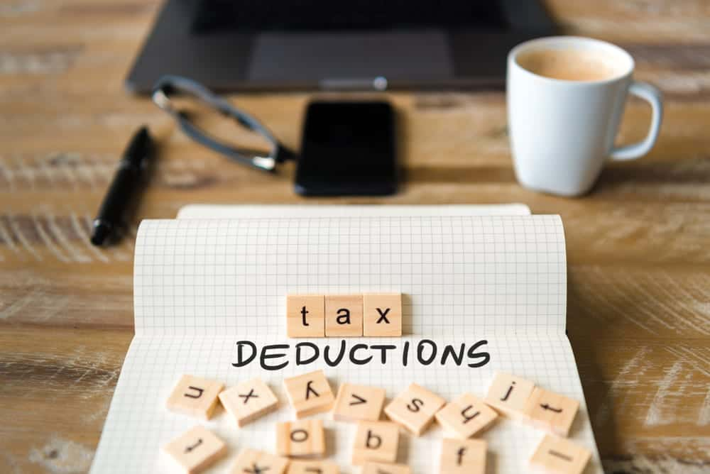 Tax Deductions on desk