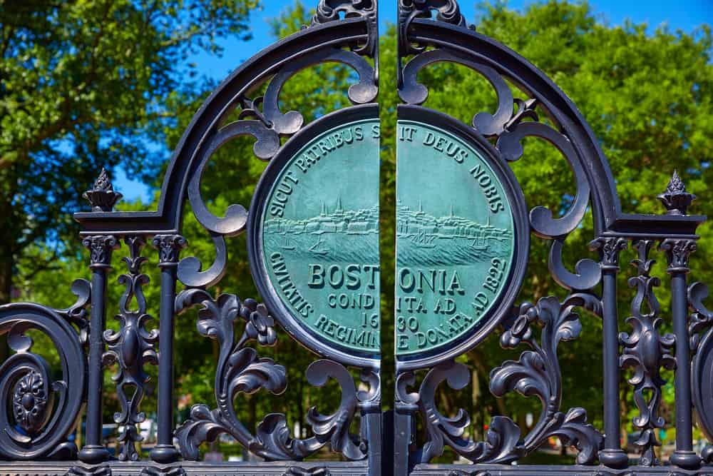 Boston Common Gate