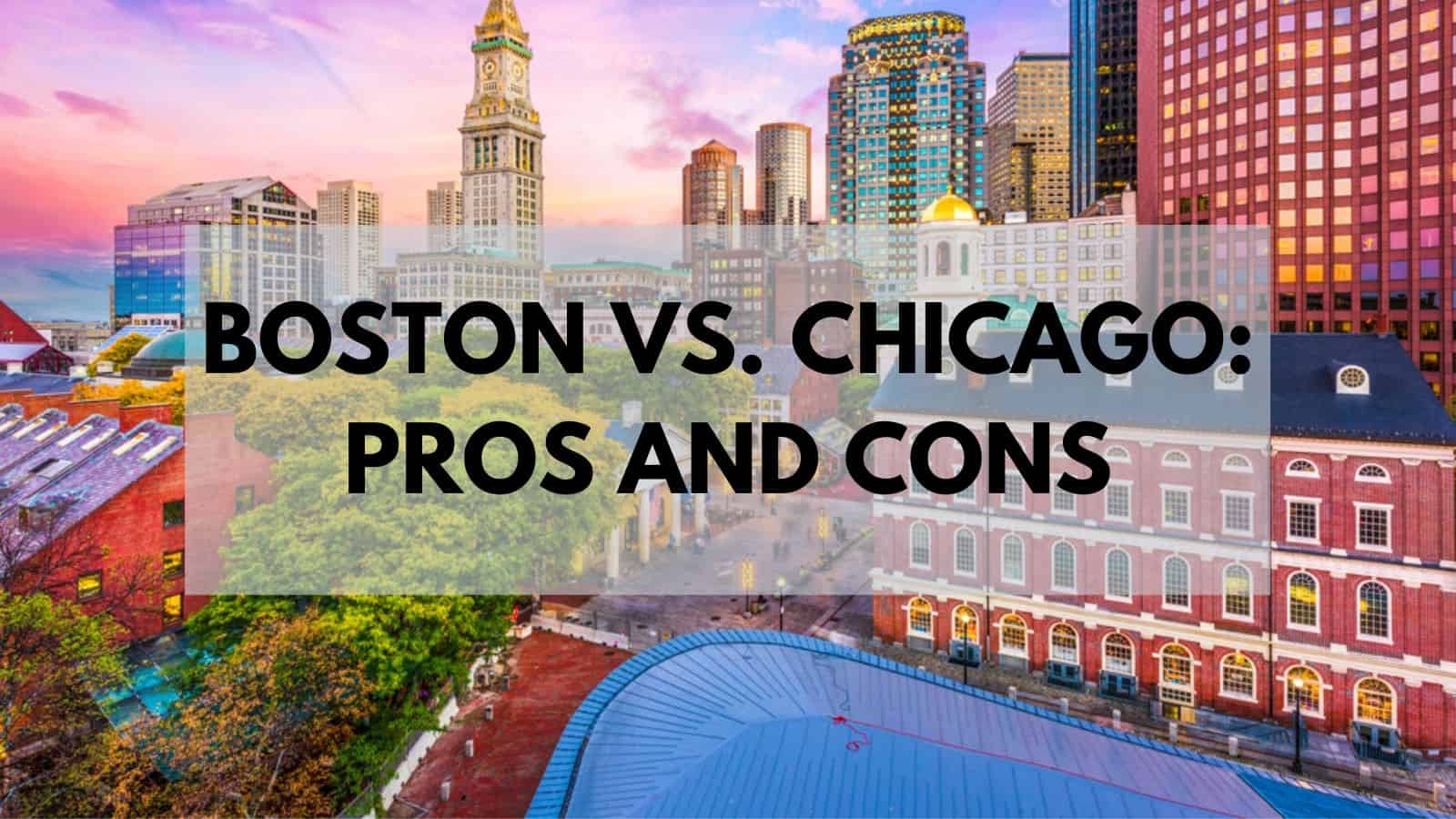 boston vs chicago