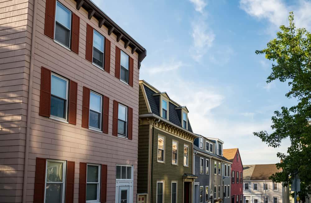 Local neighborhood in Charlestown, Boston